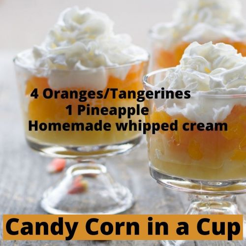 """Candy Corn"" in a Cup 1"