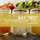 """Say """"NO!"""" to Packaged Salad Dressing!"""
